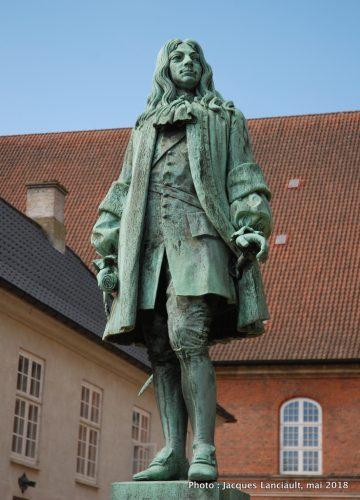 Jardin de la bibliothèque royale, Copenhague, Danemark