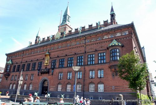 Hôtel de Ville, Copenhague, Danemark
