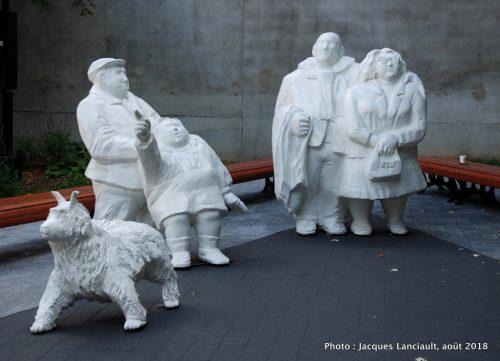 Les touristes, Elisabeth Buffoli, Montréal, Québec