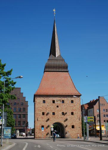 Porte Steintor, Rostock, Allemagne