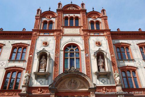 Université de Rostock, Kröpeliner Straße, Rostock, Allemagne