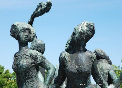 Sieben-Schwestern-Brunnen, Rostock, Allemagne