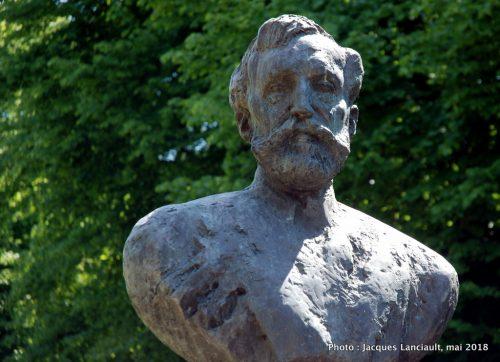 Paul-Pogge-Denkmal, Rosengarten, Rostock, Allemagne