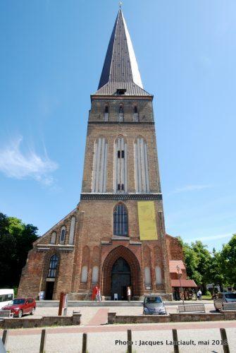L'église Saint-Pierre, Rostock, Allemagne