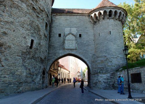 Grande porte de la côte, Tallinn, Estonie