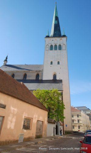 Église Saint Olaf, Tallinn, Estonie