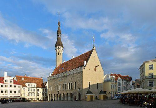 Hôtel de Ville, Tallinn, Estonie