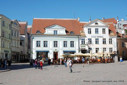 Place de l'Hôtel de Ville, Tallinn, Estonie