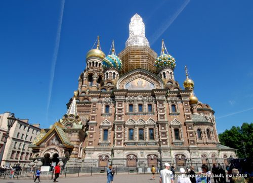 Cathédrale du Saint Sauveur sur le sang versé, Saint-Pétersbourg, Russie