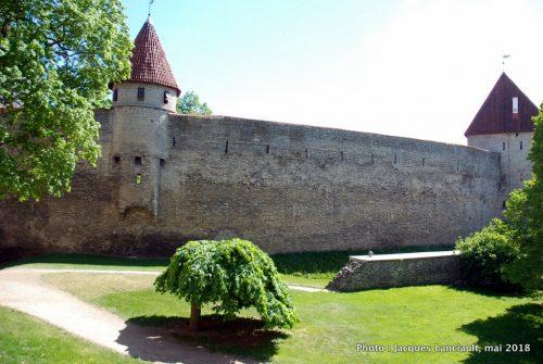 Château de Toompea, Tallinn, Estonie