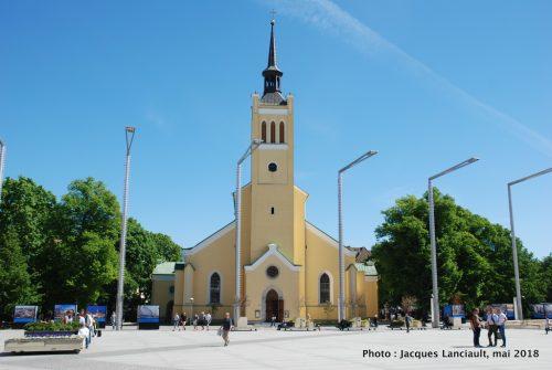 Place de la Liberté, Tallinn, Estonie
