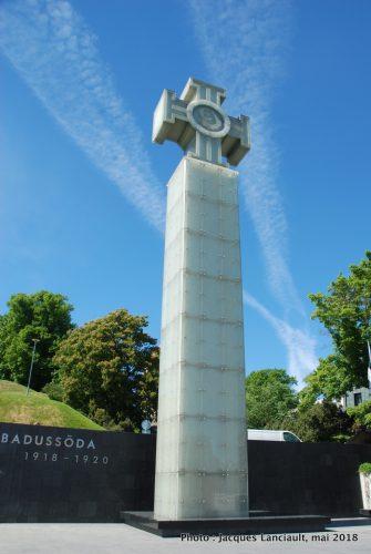 Monument de l'indépendance de l'Estonie, Tallinn, Estonie