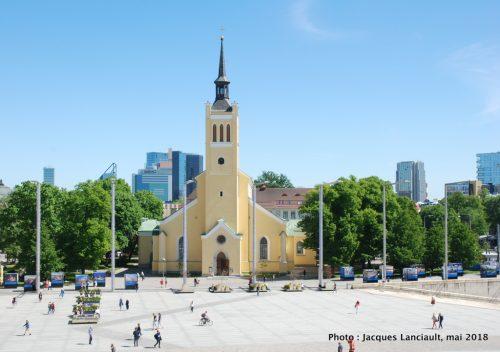 Église Saint-Jean, place de la Liberté, Tallinn, Estonie