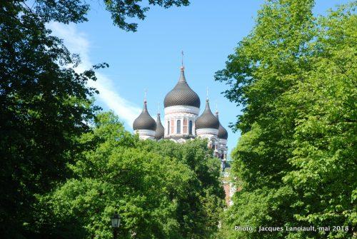Cathédrale Alexandre Nevski, Tallinn, Estonie