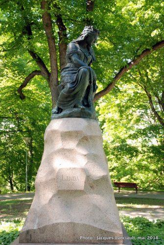 Statue de Linda, Tallinn, Estonie