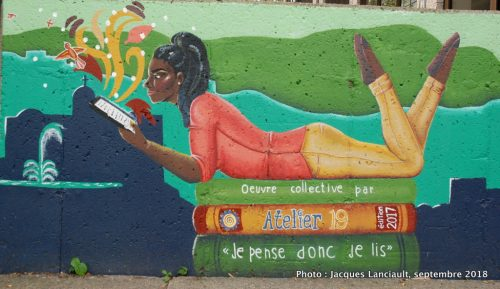 La lecturemoderne, Atelier19, Granby, Québec