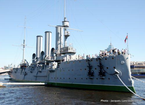 Croiseur Aurore, Saint-Pétersbourg, Russie