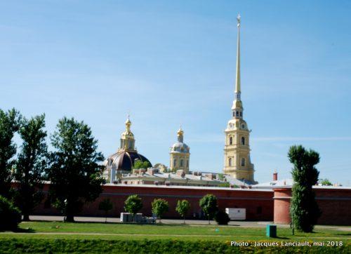 Forteresse Pierre et Paul, Saint-Pétersbourg, Russie