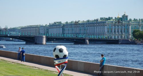 Le musée de l'Ermitage, Saint-Pétersbourg, Russie