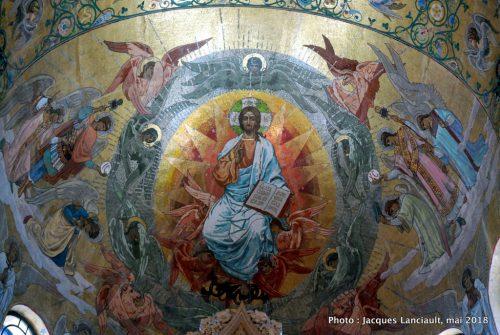 Fresque de l'église du Sauveur sur-le-sang-versé, Saint-Pétersbourg, Russie