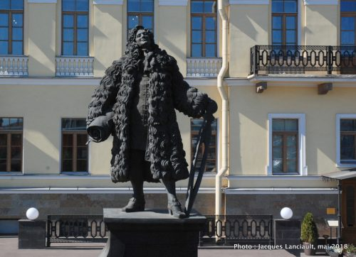 Domenico Trezzini, Saint-Pétersbourg, Russie