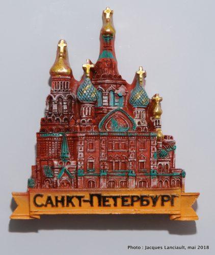 Église du Sauveur sur-le-sang-versé, Saint-Pétersbourg, Russie