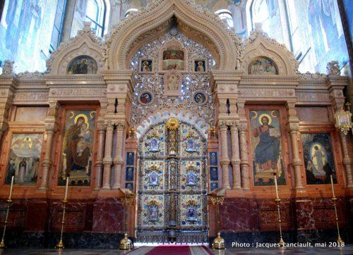 Cathédrale du Sauveur sur-le sang-versé, Saint-Pétersbourg, Russie
