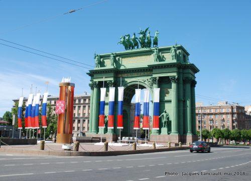 Arc de triomphe de Narva, Saint-Pétersbourg, Russie