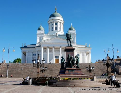 Cathédralde luthérienne, Tuomiokirkko, Helsinki, Finlande