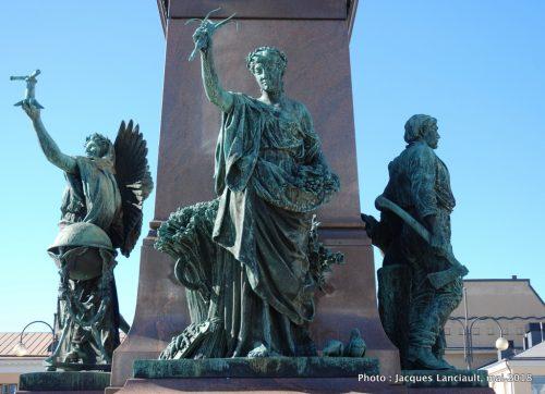 Monument AlexandreII, Helsinki, Finlande