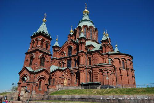 Cathédralde orthodoxe de la Dormition de la Vierge Marie, Helsinki, Finlande