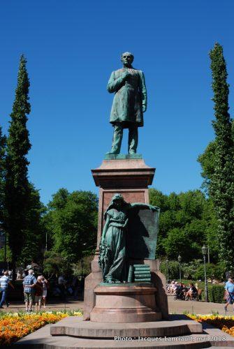 Johan Ludvig Runeberg, Helsinki, Finlande