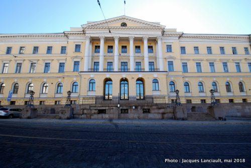 Palais du Conseil d'État, Helsinki, Finlande