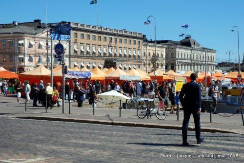 Place du marché, Helsinki, Finlande