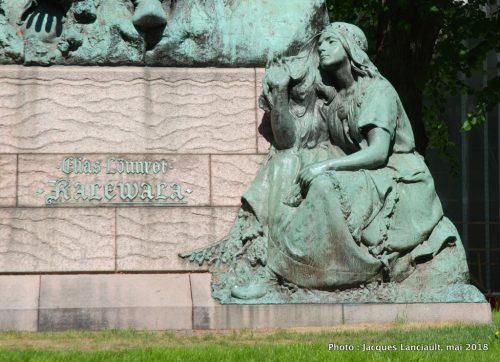 Monument Elias Lönnrot, Helsinki, Finlande