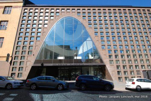 Bibliothèque de l'Université, Helsinki, Finlande