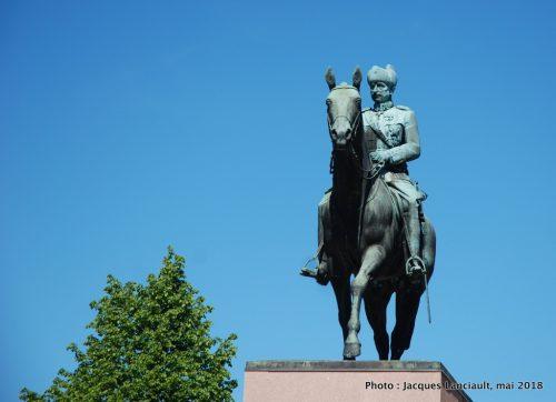 Statue équestre du maréchal Mannerheim, Helsinki, Finlande
