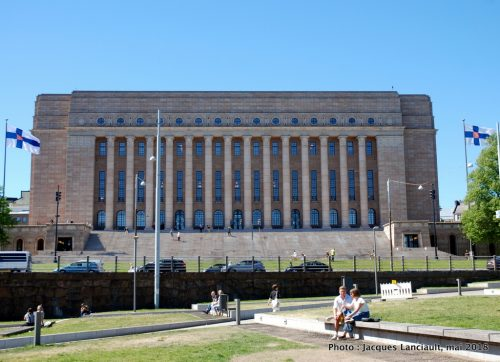 Eduskuntatalo, Helsinki, Finlande