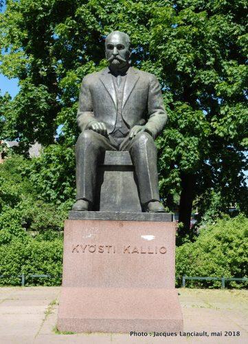 Kyösti Kallio, Helsinki, Finlande