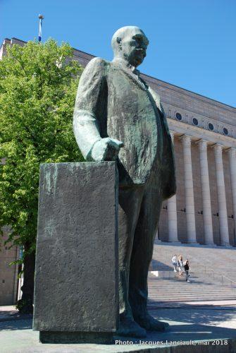 Pehr Evind Svinhufvud, Helsinki, Finlande