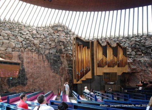 Église Temppeliaukio, Helsinki, Finlande