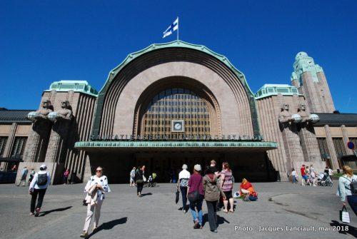Gare Centrale, Helsinki, Finlande