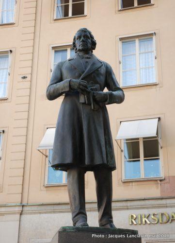 Lars Johan Hierta, Stockholm, Suède