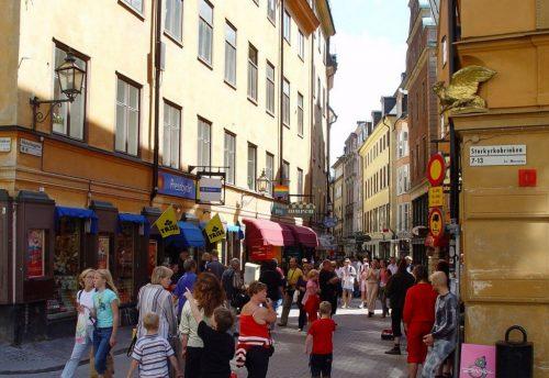 Västerlånggatan, Stockholm, Suède
