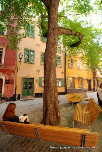 Brända Tomten, Stockholm, Suède