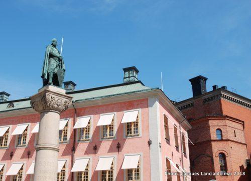 Monument à Birger Jarl, Stockholm, Suède