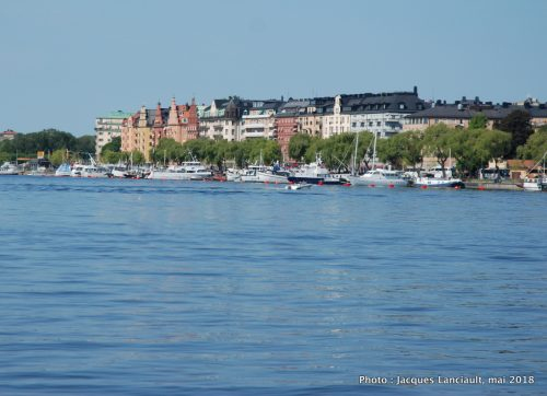 Baie de Riddarfjärden, Stockholm, Suède