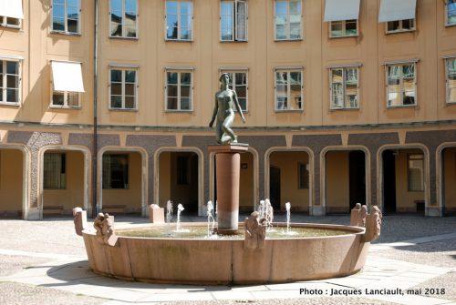 Fontaine, Stockholm, Suède