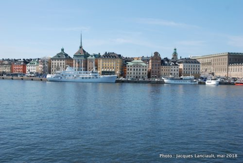 Vue de Skeppsholmsbron, Stockholm, Suède