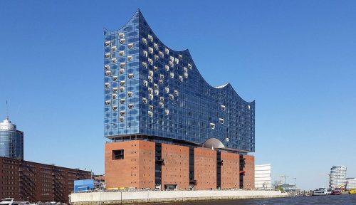 LaPhilharmonie de l'Elbe, Hambourg, Allemagne